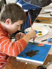 Fall Art Workshops for Kids